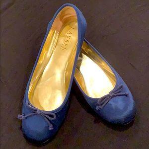 Ralph Lauren Satin Ballet Flats
